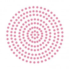 Couture Creations Adhesive Pearls - Pretty Pink (3mm - 206pcs)