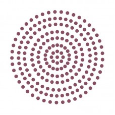 Couture Creations Adhesive Pearls - Perfect Plum (3mm- 206pcs)