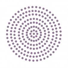 Couture Creations Adhesive Pearls - Petunia Purple (3mm - 206pcs)
