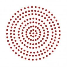 Couture Creations Adhesive Pearls - Deep Red (2mm- 424pc)