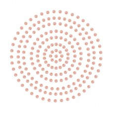 Couture Creations Adhesive Pearls - Coral (2mm- 424pc)