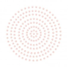 Couture Creations Adhesive Pearls - Soft Pink (2mm- 424pc)