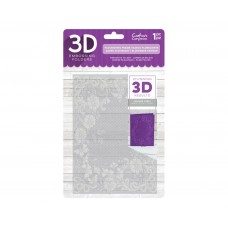Crafter's Companion 3D Embossing Folder - Flourishing Frame