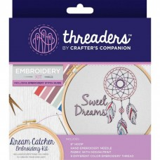 Crafter's Companion Threaders - Embroidery Kit - Dream Catcher