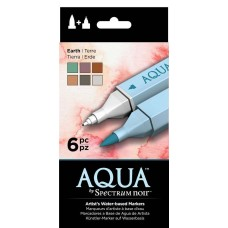 Crafter's Companion Spectrum Noir - Aqua (6PC) – Earth