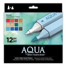 Crafter's Companion Spectrum Noir - Aqua Nature (12PC)