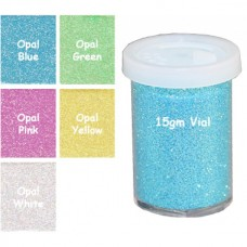 Craftworkz Glitter - Ultra Fine Opalescent - 15 grams Tub You Choose Colour