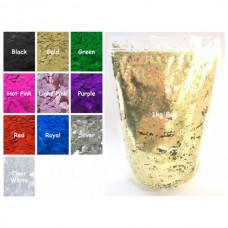 Craftworkz Glitter - Hex - 1kg Bag You Choose Colour