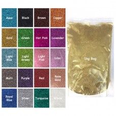 Craftworkz Glitter - Ultra Fine - 1kg Bag You Choose Colour