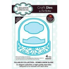 Creative Expressions Die Fillables Collection Dome Snow Globe