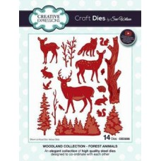 Creative Expressions Die Woodland Collection Forest Animals