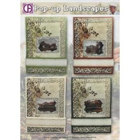Cardmaking kit Pop-up Landscapes