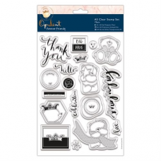 Forever Friends Drop A5 Clear Stamp Set (19pcs) - Opulent