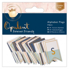 Forever Friends Alphabet Flags (54pcs) - Opulent