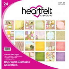 Heartfelt Creations Backyard Blossoms Paper Pad