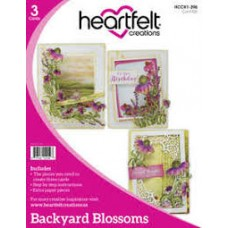 Heartfelt Creations Backyard Blossoms Card Kit (PRE ORDER NOW SHIPPING 9TH MAY 2018)