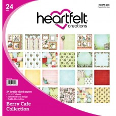 Heartfelt creations Berry Cafe Paper Collection HCDP1-265