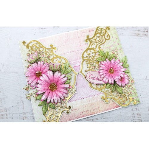Heartfelt Creations Dies Choose One Swirly Border Accents /& Spray Collection Booklet Basics Frames