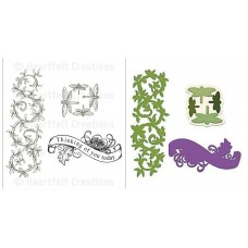 Heartfelt Creations Enchanted Dragonfly Die + Stamp Set
