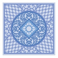 Heartfelt Creations Decorative Royale Square & Circle - Courtyard Elegance Die