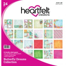 Heartfelt Creations Butterfly Dreams Paper Pad