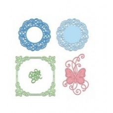 Heartfelt Creations Butterfly Kisses Decorative Die Set