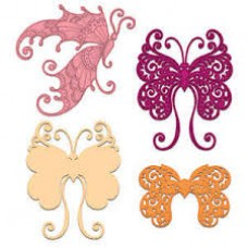 Heartfelt Creations Fluttering Butterfly Die Set