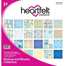 Heartfelt Creations Buttons and Blooms Paper Collection