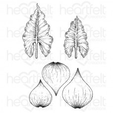 Heartfelt Creations Calla Lily Collection Calla Lily Cling Stamp Set
