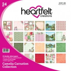 Heartfelt Creations Camelia Carnation Paper Collection HCDP1-285