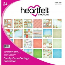 Heartfelt Creations Candy Cane Cottage Paper Collection HCDP1-2105