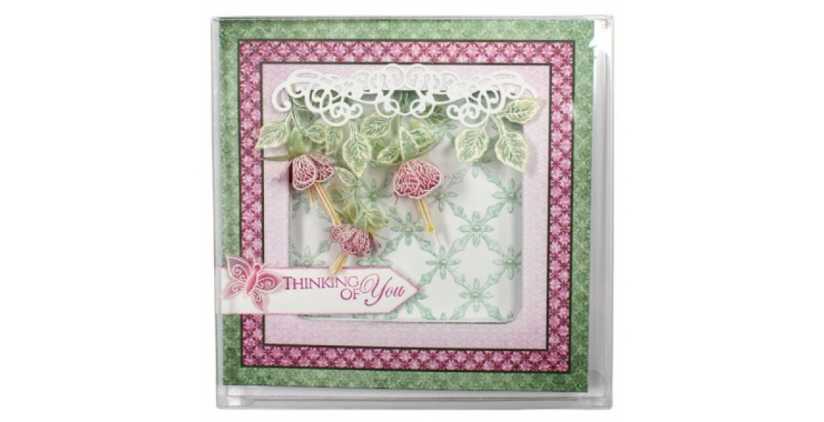 Heartfelt Creations 6 1/8 x 6 1/16 Clear Boxes - 10 Pack FB13