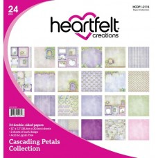 Heartfelt Creations Cascading Petals Paper Collection