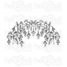Heartfelt Creations Vining Fuchsia Cling Stamp Set HCPC-3669