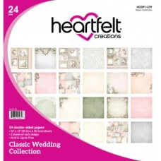 Heartfelt Creations Classic Wedding Paper Collection HCDP1-279