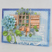 Heartfelt Creations Cottage Garden Cottage Window & Hydrangea Die