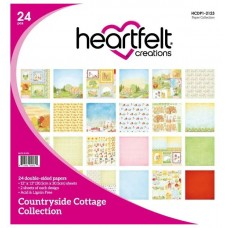 Heartfelt Creations Countryside Cottage Paper Collection