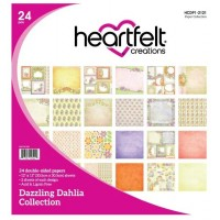 Heartfelt Creations Dazzling Dahlia Paper Collection