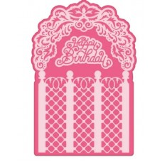 Heartfelt Creations Decorative Gateway Collection - Lattice Flourish Gateway Die
