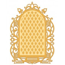 Heartfelt Creations Decorative Gateway Collection - Regal Lattice Gateway Die