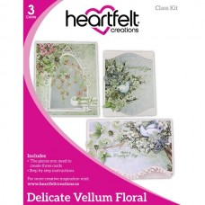 Heartfelt Creations Delicate Vellum Floral Class Kit