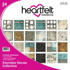 Heartfelt creations Everyday Heroes Paper Collection HCDP1-253
