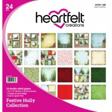 Heartfelt Creations Festive Holly Paper Collection HCDP1-280