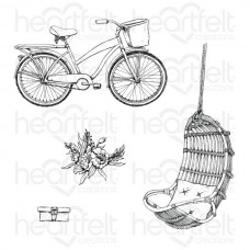 Heartfelt Creations French Cottage Collection Cottage Lifestyle Cling Stamp Set