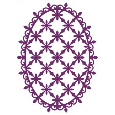 Heartfelt Creations Decorative Oval Die HCD1-762