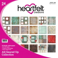 Heartfelt Creations All Geared Up Paper Collection HCDP1-248