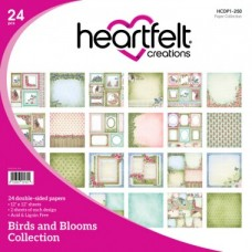 Heartfelt Creations Birds and Blooms Paper Collection HCDP1-250