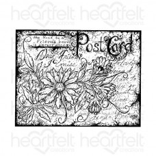 Heartfelt Creations Post Card Cling Stamp Set