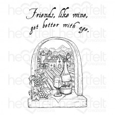 Heartfelt Creations Italiana Riviera Cling Stamp Set HCPC-3700