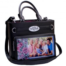 Heartfelt Creations Art From the Heart Handbag-Black